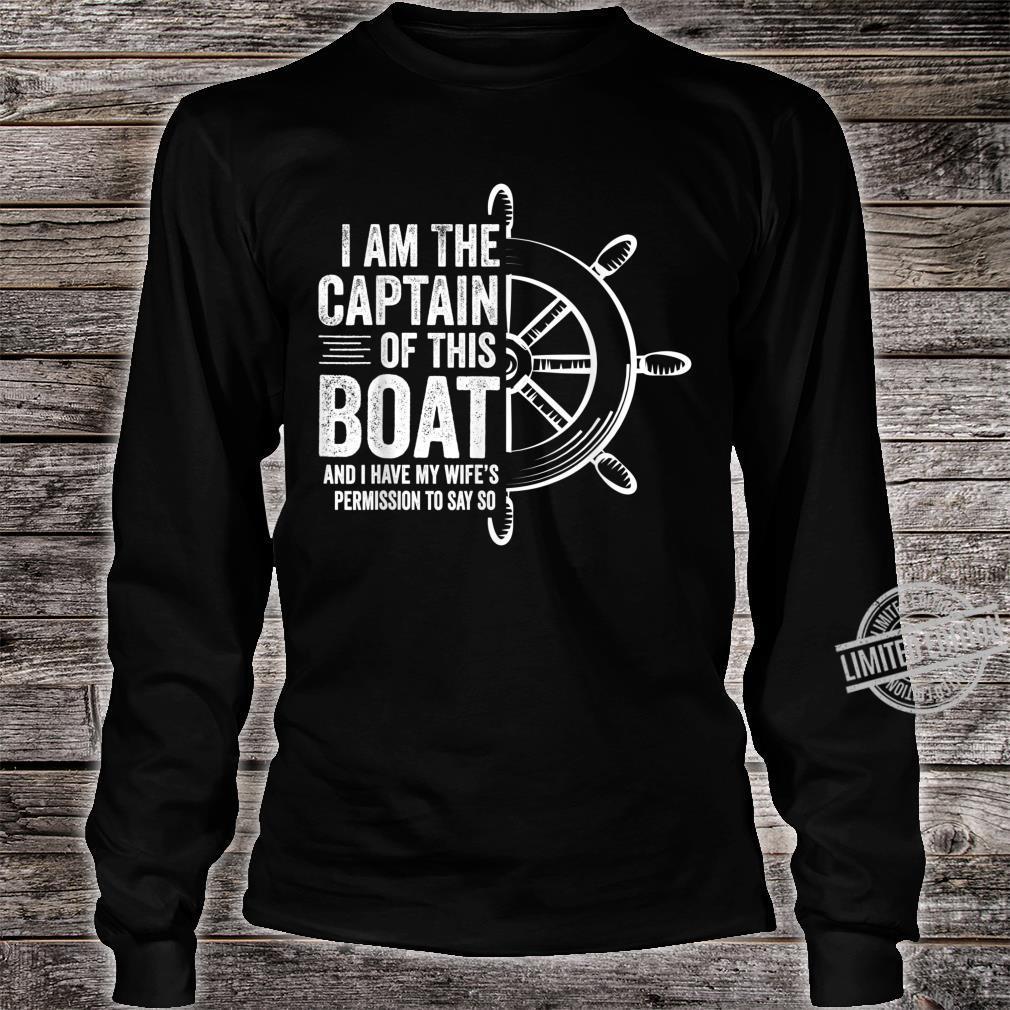 I Am The Captain I Have My Wifes Permission Short-Sleeve Unisex T-Shirt